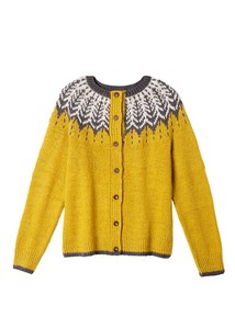 A/W Hand Knitting Knitted Cardigan