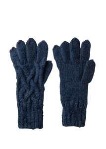 A/W Hand Knitting Cable Knitted Glove