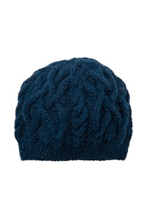 Hand Knitting Cable Knitted Cap