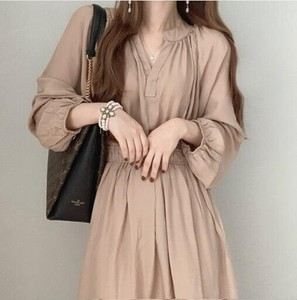 Korea Fashion Korea One-piece Dress [ 2020NewItem ] Ladies One-piece Dress One-piece Dress