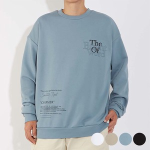 A/W Unisex Print Fleece Big Sweat Sweatshirt