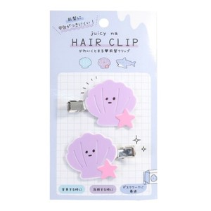 Hair Accessory Shell Hair Clip 2Pcs set