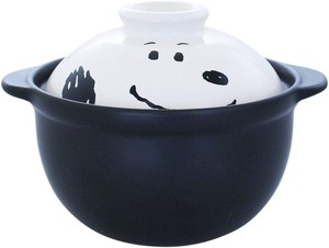 Snoopy Face Parsons Can Use Earthen Pot / Clay pot Character
