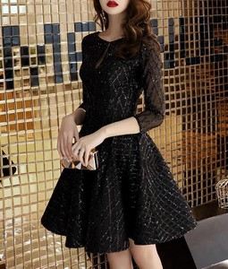Dress Black Di Party Birthday Party Dress Dress