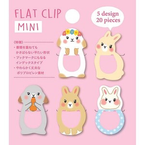 Flat Clip Mini Rabbit