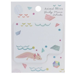 Sticky Note Wooper Die Cut Sticky Memo Pad