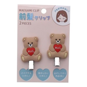 Hair Accessory Heart Bear Hair Clip 2Pcs set