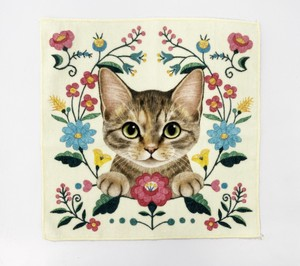 Shop Brown American Shorthair Kitten Hand Towel