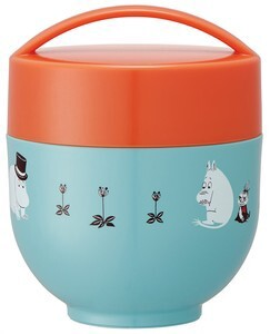 Light-Weight Compact Heat Retention Donburi Bowl Lunch The Moomins Color
