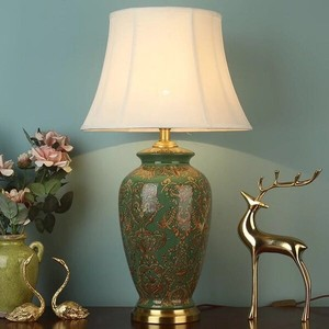 Lighting Stand Light Table Lamp Desk Light Table-top Sten Pottery Stand