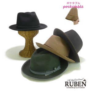 Ruben Middle Brim Felt Hat Young Hats & Cap
