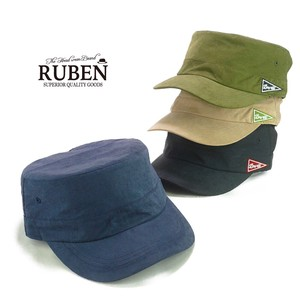 Ruben Peach Skin Military Cap Young Hats & Cap