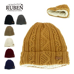Ruben Cable Knitted Watch Cap Young Hats & Cap