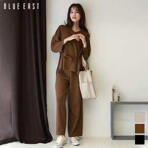 """2020 New Item"" V-neck Knitted Knitted Pants Suit Set"
