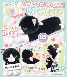 Cat Socks Big Soft Toy