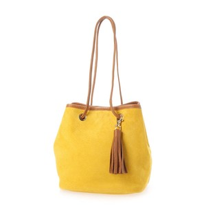 Pig Suede Los Shoulder Bag
