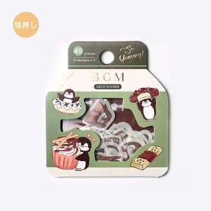 Sticker Chocolate Penguin