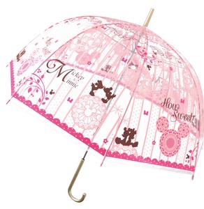 Adult Vinyl Umbrella Mick Minnie 9cm