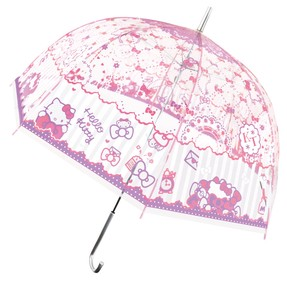 Adult Vinyl Umbrella Hello Kitty Ribbon 9cm
