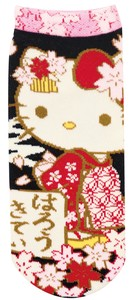 Socks Hello Kitty Sakura Scenery Socks