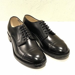 Punch Cap Genuine Leather Leather Sole Dress Shoes Business Shoes