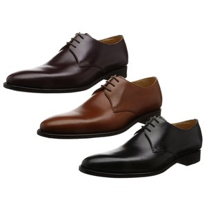 Plain Genuine Leather Leather Sole Dress Shoes Business Shoes