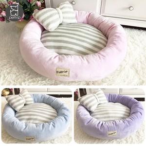【2020新作】ペット用品 ペットの巣 ベッド ハウス 円型 犬猫兼用