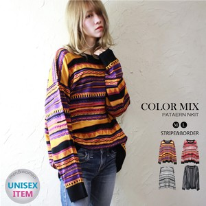 Various Color Knitted Sweater