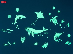 Luminance Sticker Sea Animal