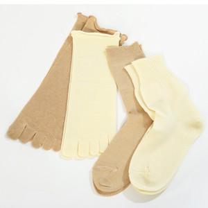 冷えとり靴下4足重ね履き パーフェクトセット