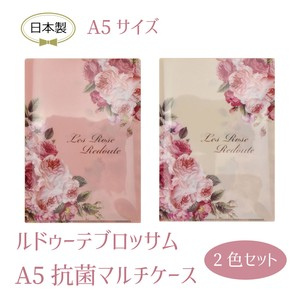 Redoute Blossom Antibacterial A5 size Multi Case