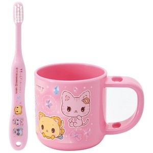 Stand Cup Toothbrush Set Friend