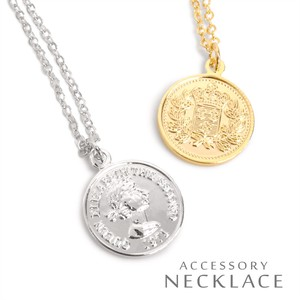 MAGGIO Accent Medal Coin Pendant Necklace