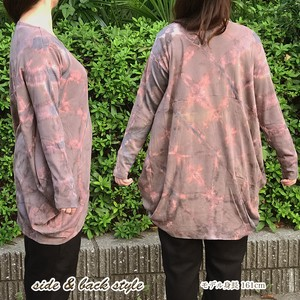 Silhouette Style Cover Deformation Long Sleeve Cotton Tunic Cut And Sewn