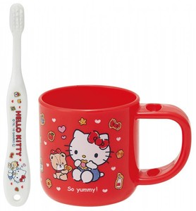 Stand Cup Toothbrush Set Hello Kitty Cookies