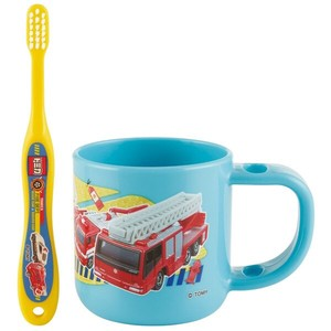 Stand Cup Toothbrush Set Tomica