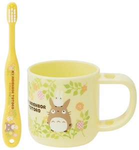 Stand Cup Toothbrush Set My Neighbor Totoro Plants