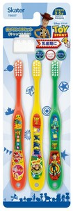 Kindergarten Toothbrush 3P Attached Cap Anime & Character Book