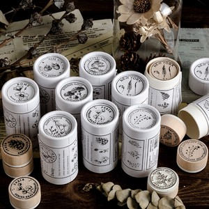 Wooden Stamp Collection Series Set