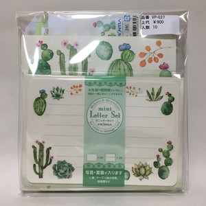 Outlet Value Pack Letter Cactus Set