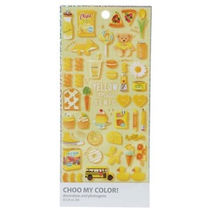 HOO COLOR Color Sticker Favorite Yellow