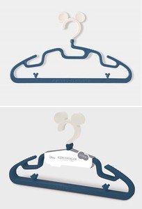 Mickey Mouse Kids Clothes Hanger Navy Set Of 3