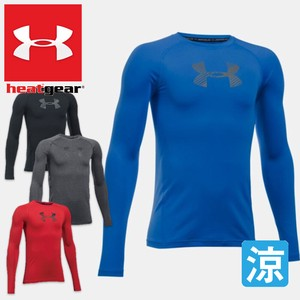 UNDERARMOUR/アンダーアーマーヒートギアジュニアHeat Gear Armour Boys Long Sleeve Shirt 1289959