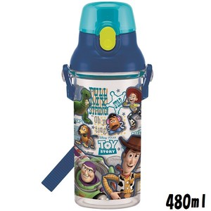Wash In The Dishwasher Clear Bottle Toy Story Made in Japan