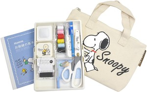 Interior Plants Snoopy Sewing Set Fastener Bag Tote Type