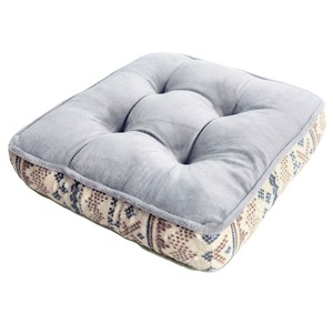 Floor Cushion Nordic Attached A/W Gray