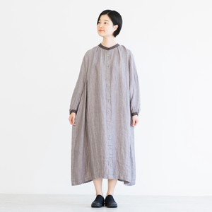 Reserved items Linen Double Gauze Wide One-piece Dress