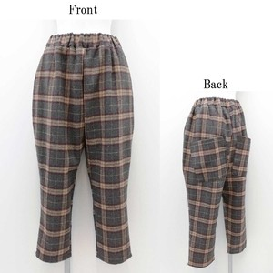 Checkered Big Pocket Pants