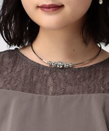 Juice Tone Choker Necklace