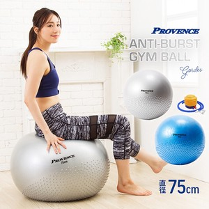 PROVENCE Gordes series / ANTI-BURST GYM BALL 75cm